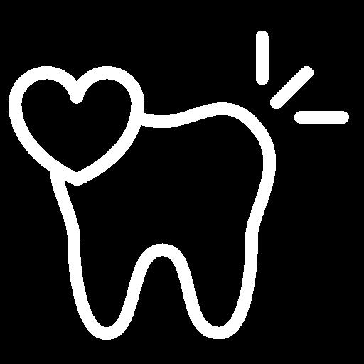 diente limpio y feliz