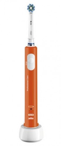 Oral-B Pro 600 CrossAction naranja
